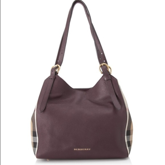 Burberry House Check Canterbury Leather Tote